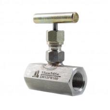 Клапан игольчатый TDDA2301 15нж54бк муфтовый