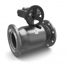 Кран шаровой полнопроходной фланец/фланец с редуктором СТ.20 (углеродистая сталь)