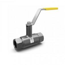 Кран шаровой полнопроходной муфта/муфта СТ.20 (углеродистая сталь)