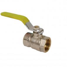 Кран шаровый газовый TDTA1603 муфта-муфта (ручка; бабочка)