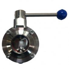 Затвор дисковый поворотный нержавеющий TDCA1551