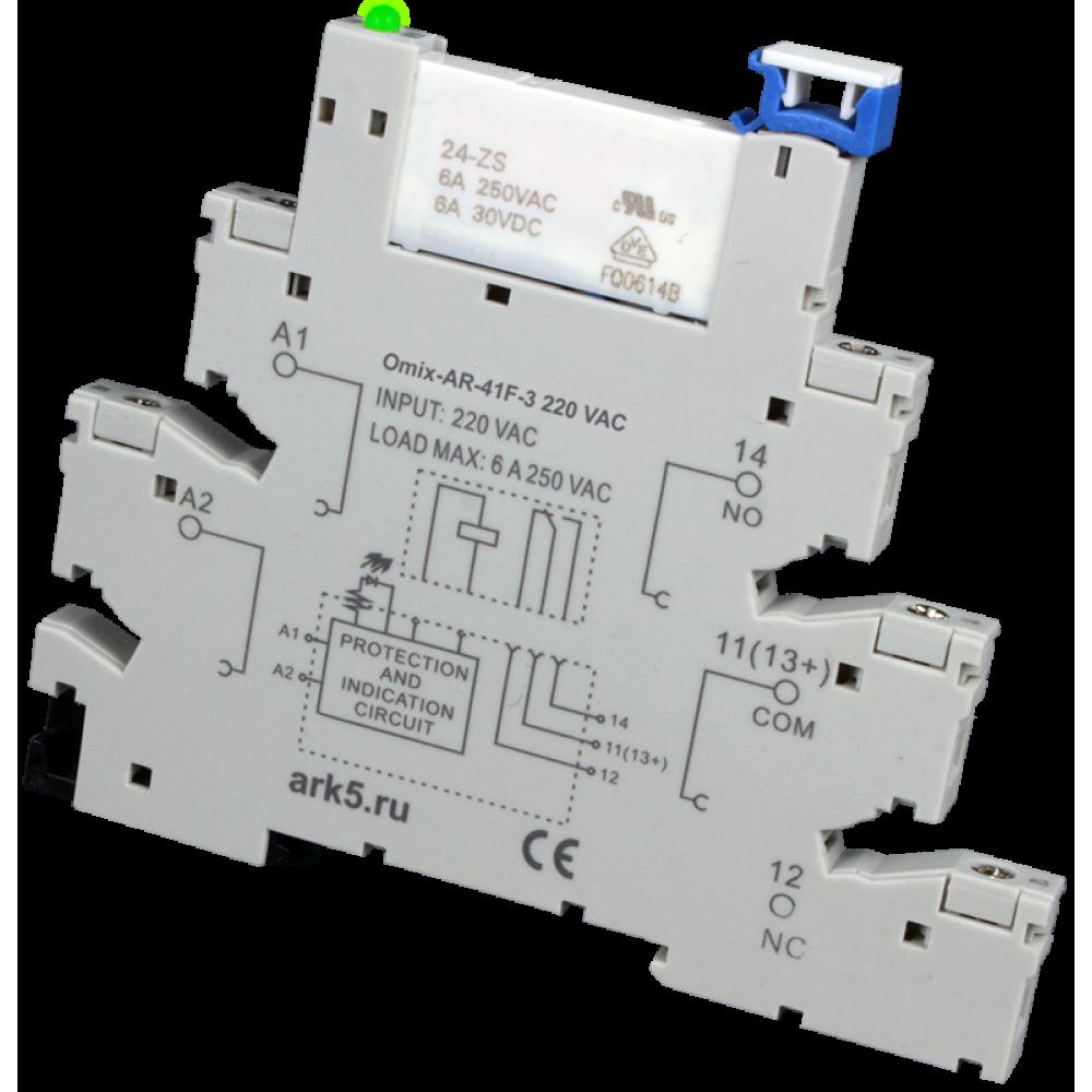 Интерфейсный модуль электромеханического реле Omix AR-41F