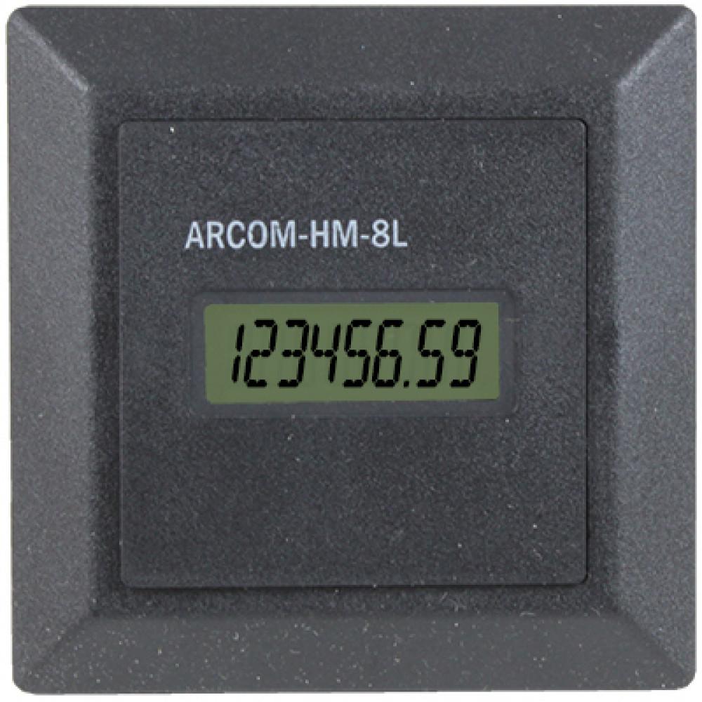 Счетчик времени наработки (счетчик моточасов) ARCOM-HM-8L
