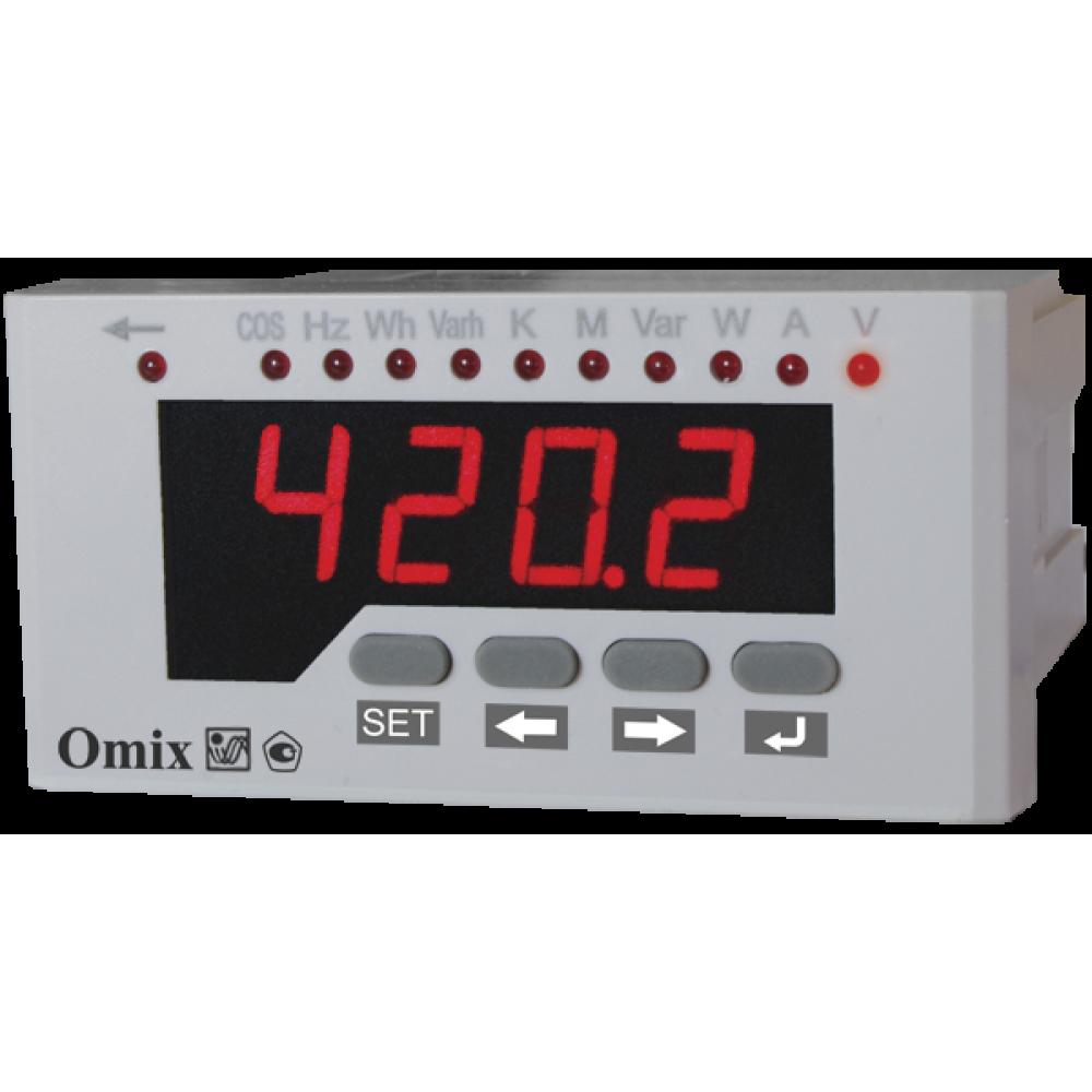 Мультиметр однофазный щитовой Omix P94-ML-1-0.5-RS485