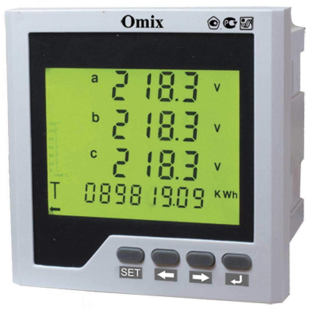 Анализатор параметров трехфазной сети Omix P99-MLA-3-0.5-RS485