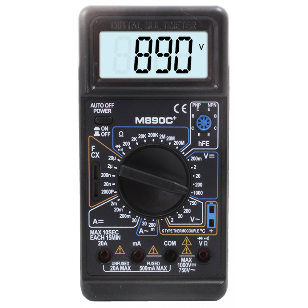 Мультиметр M890С+
