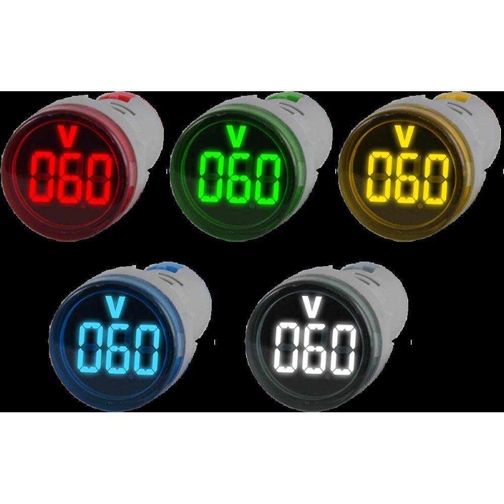 Цифровой индикатор напряжения постоянного тока Omix R30-DV1