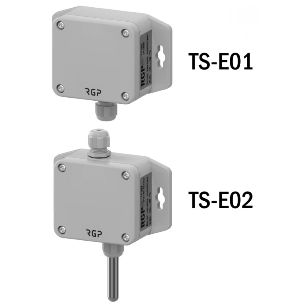 Датчики температуры наружные TS-E01, TS-E02