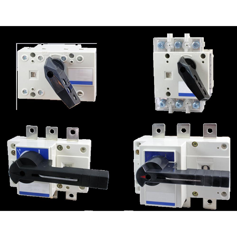 Трехполюсный выключатель-разъединитель (рубильник) ВР-3