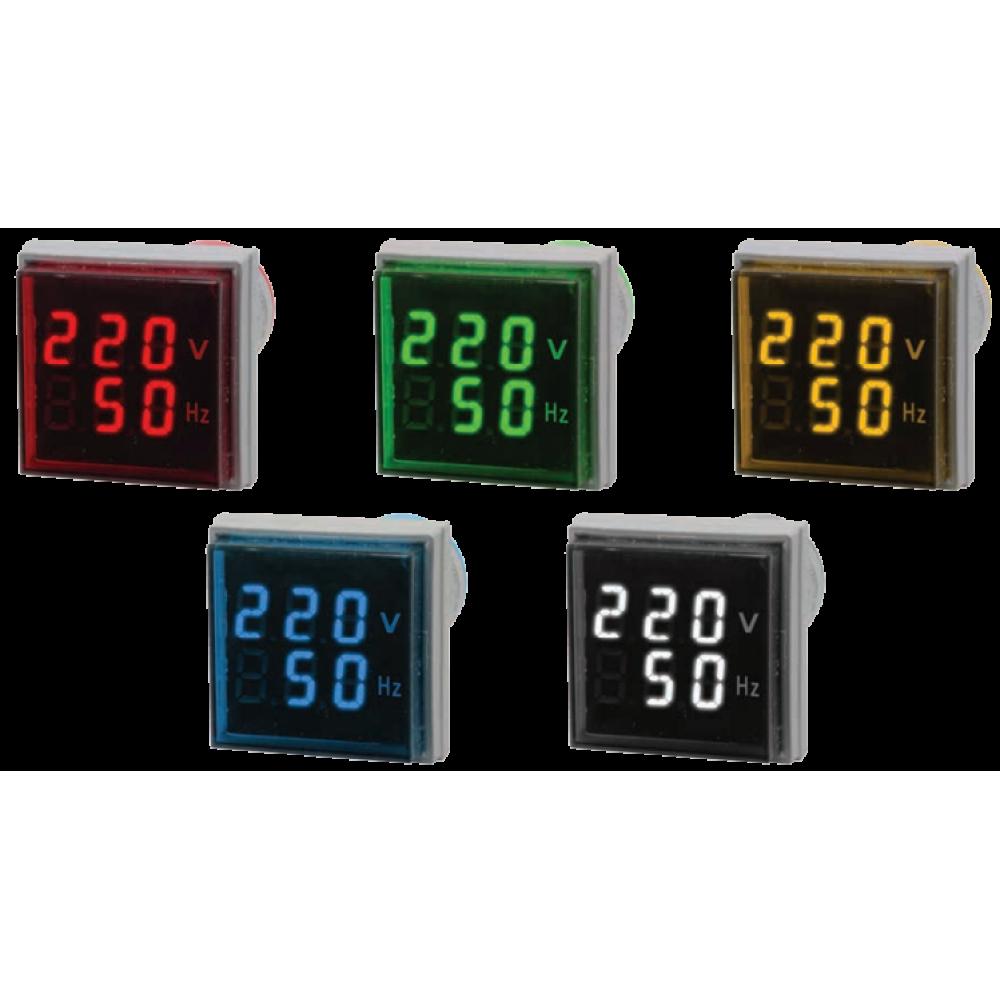 Цифровой индикатор напряжения и частоты Omix T33-VF2-1