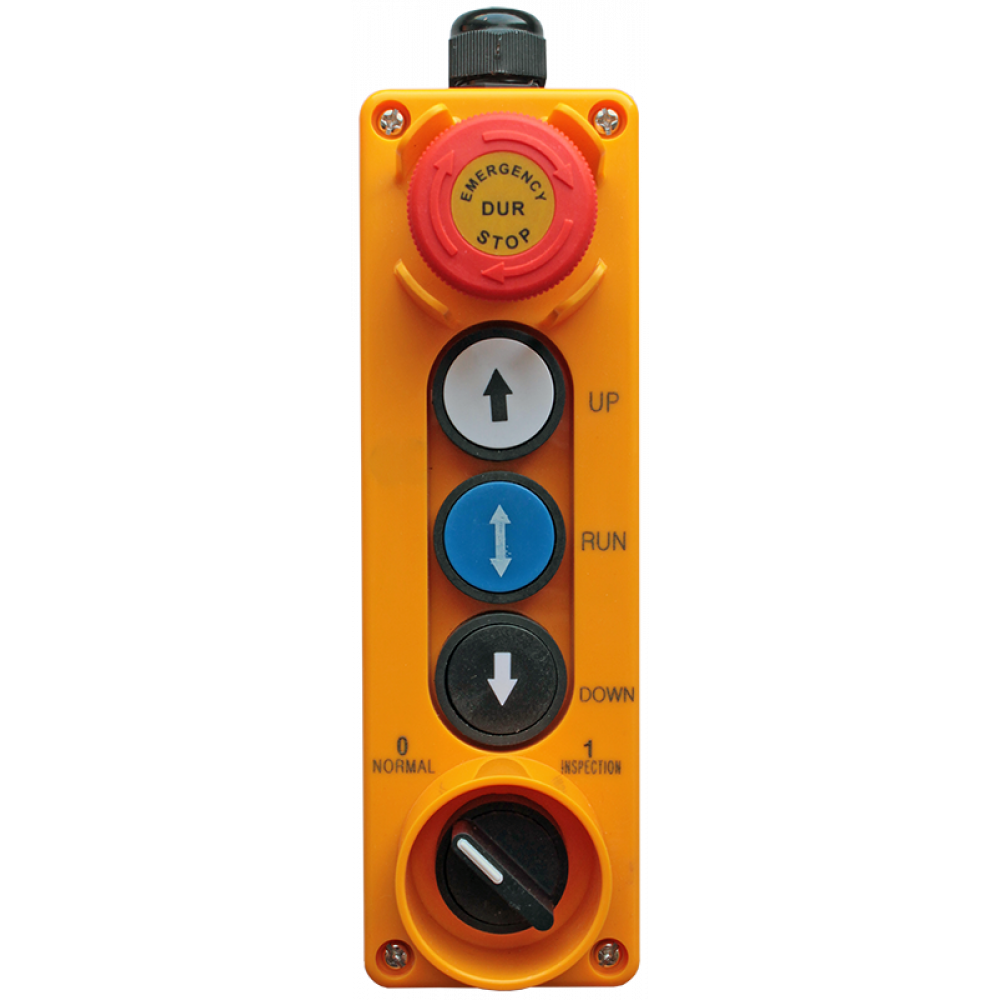 Пост управления пятикнопочный ПТК-А-5512