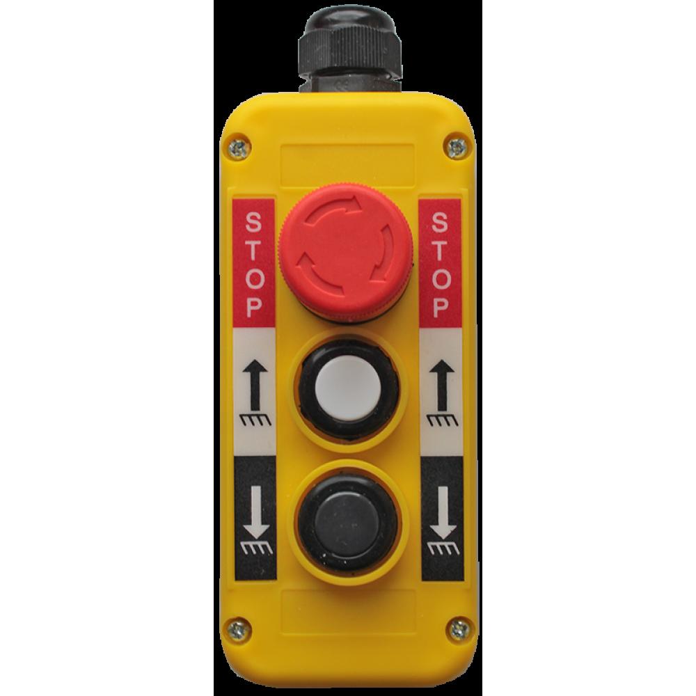 Пост управления трехкнопочный ПТК-А-3302