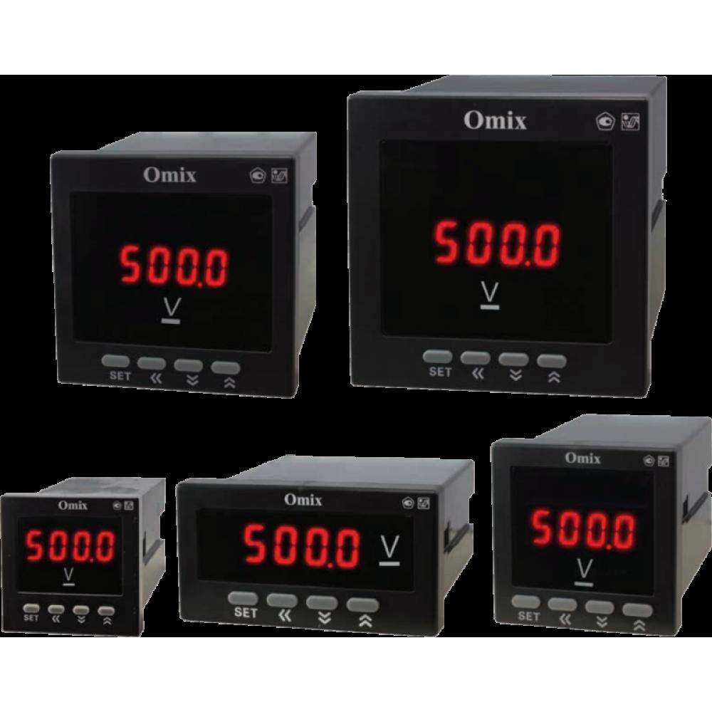 Вольтметр постоянного тока щитовой Omix DV1