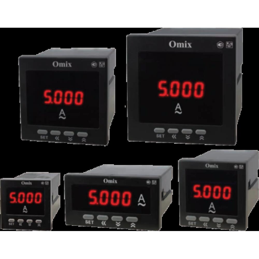 Амперметр однофазный щитовой с интерфейсом RS-485 Omix A1-1-RS485-N2