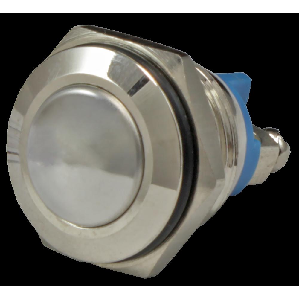 Кнопка металлическая антивандальная AR-SD16-SM16100.S