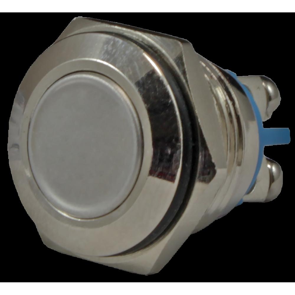 Кнопка металлическая антивандальная AR-SD16-BM16100.F