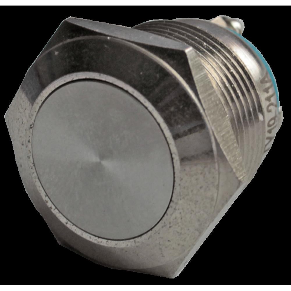Кнопка металлическая антивандальная AR-SD16.BM19100.F