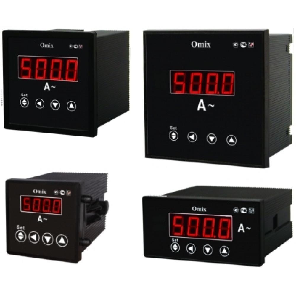 Амперметр однофазный щитовой с интерфейсом RS-485 Omix A-1-0.5-RS485