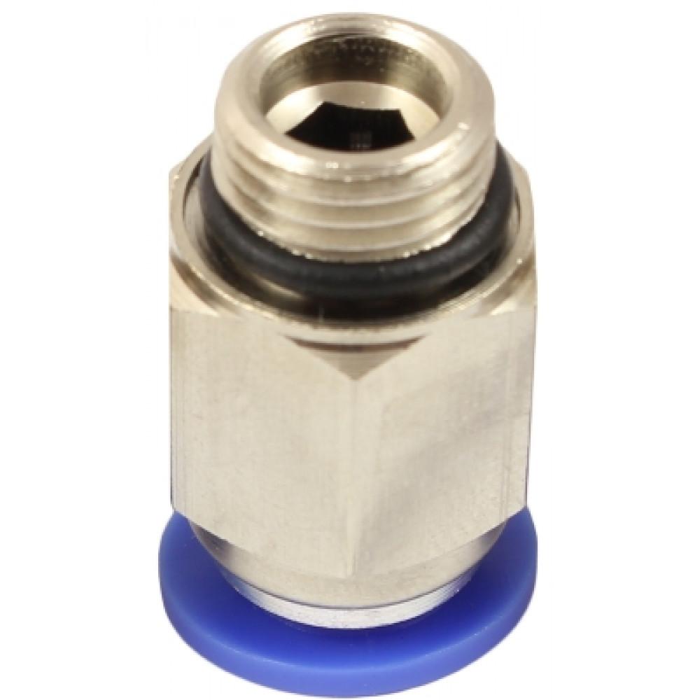 Прямой шестигранный фитинг с уплотнительным кольцом ТРН.К