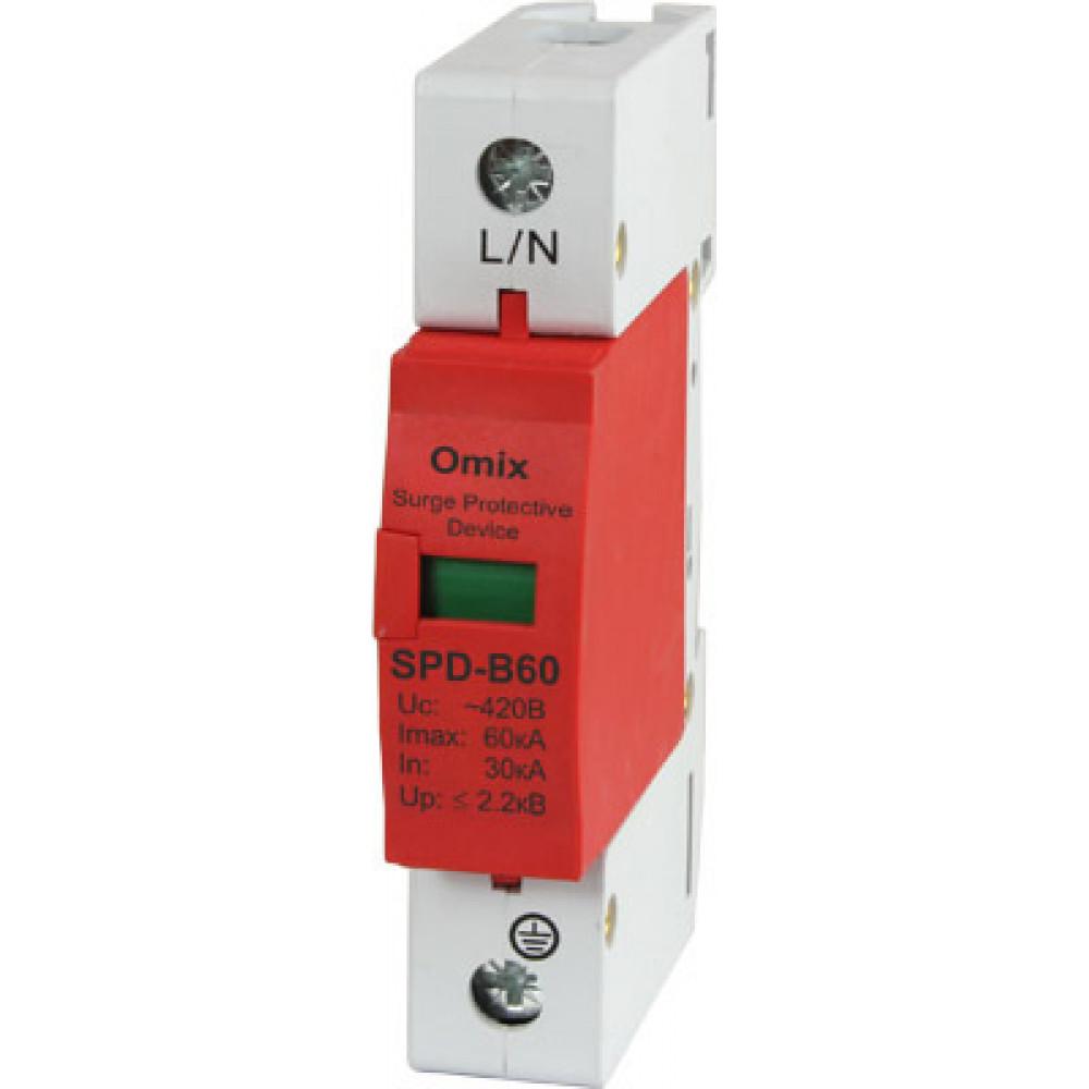 Устройство защиты от импульсного перенапряжения Omix-SPD-B60