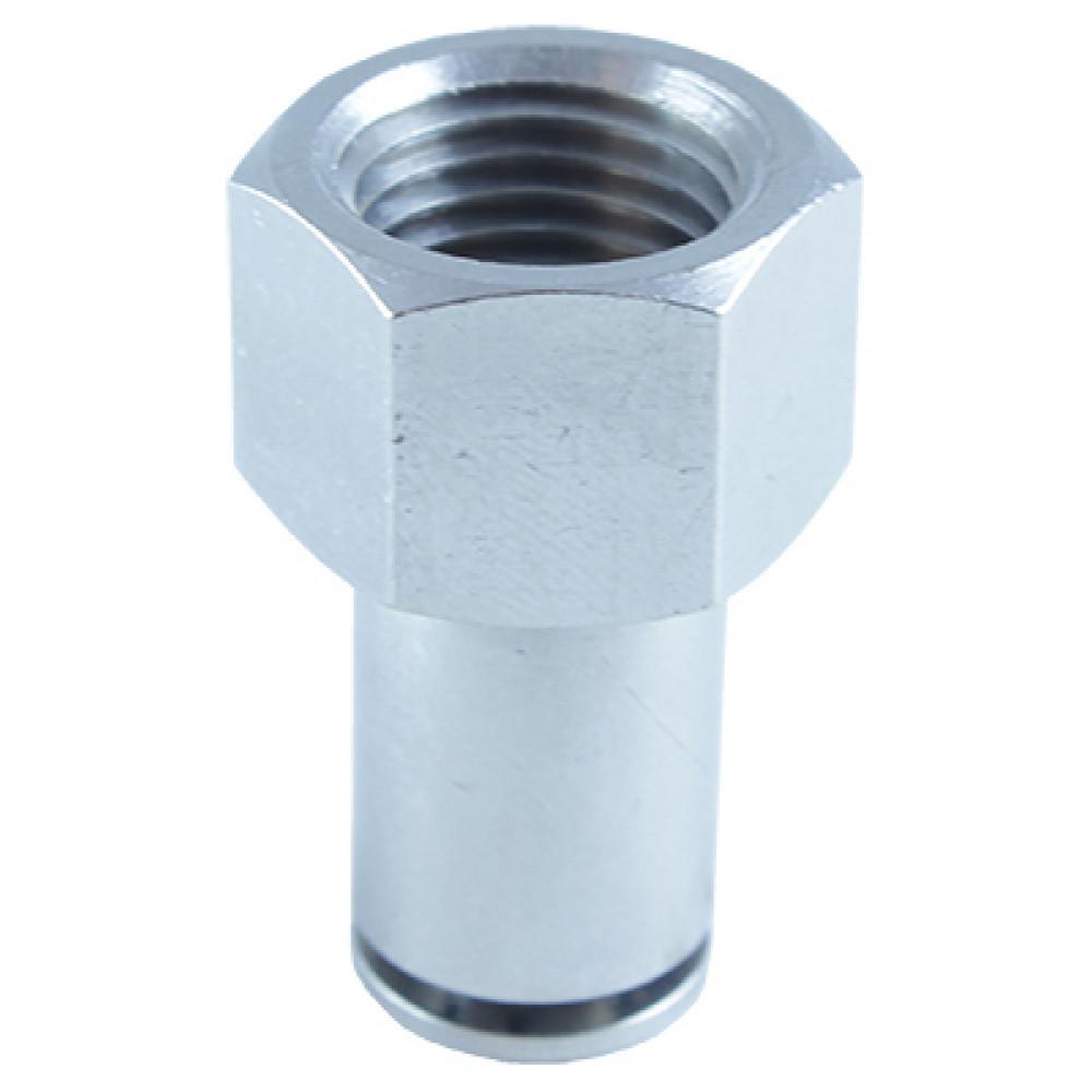 Прямой шестигранный фитинг металлический ТРВМ