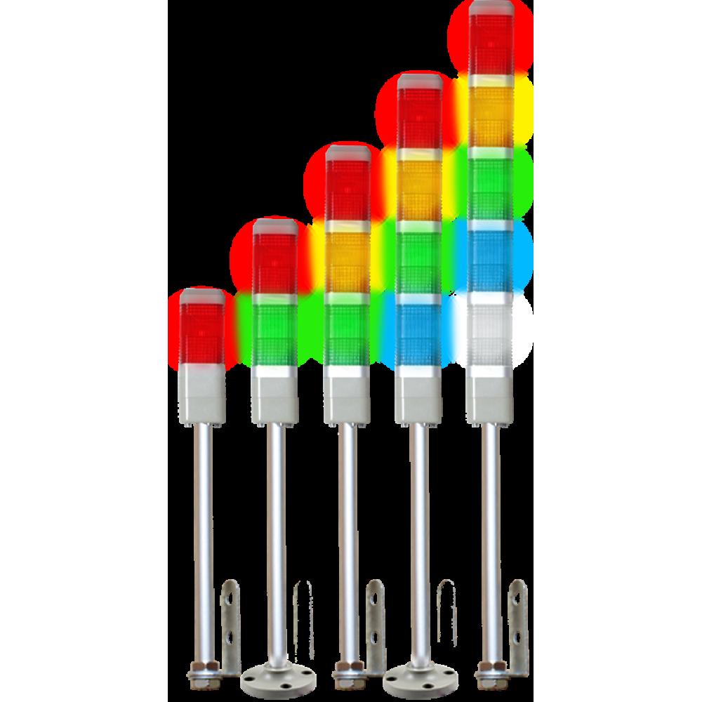 Многоуровневые сигнальные башни с лампами накаливания БСНк-204