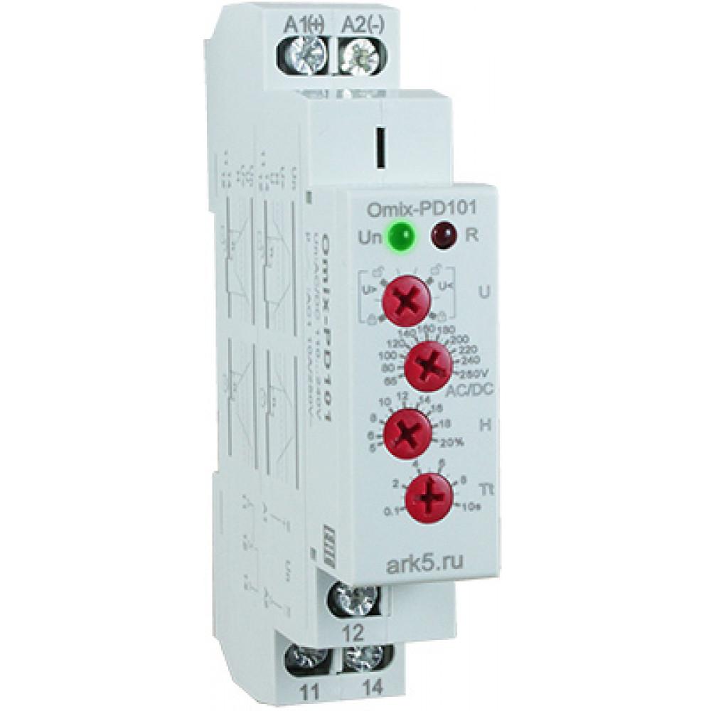 Реле контроля однофазного напряжения Omix-PD-101