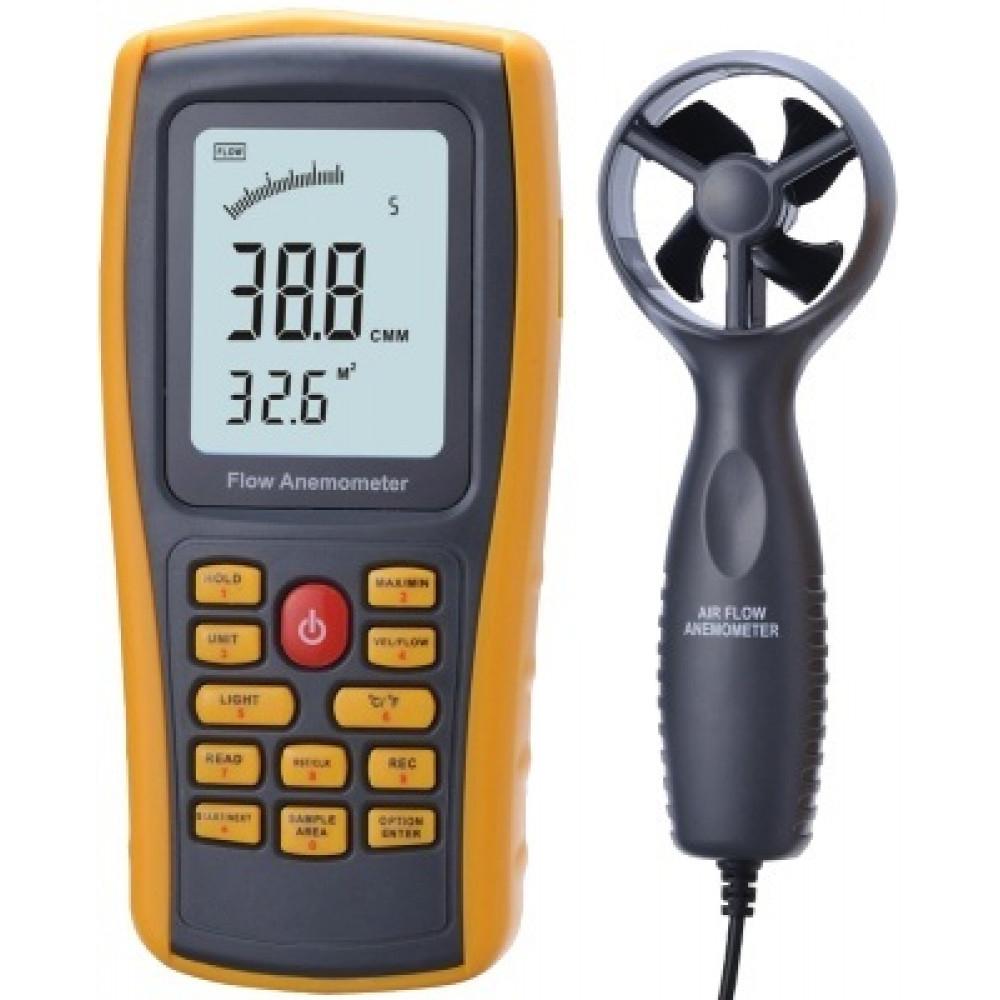 Термоанемометр с выносным датчиком AR8902