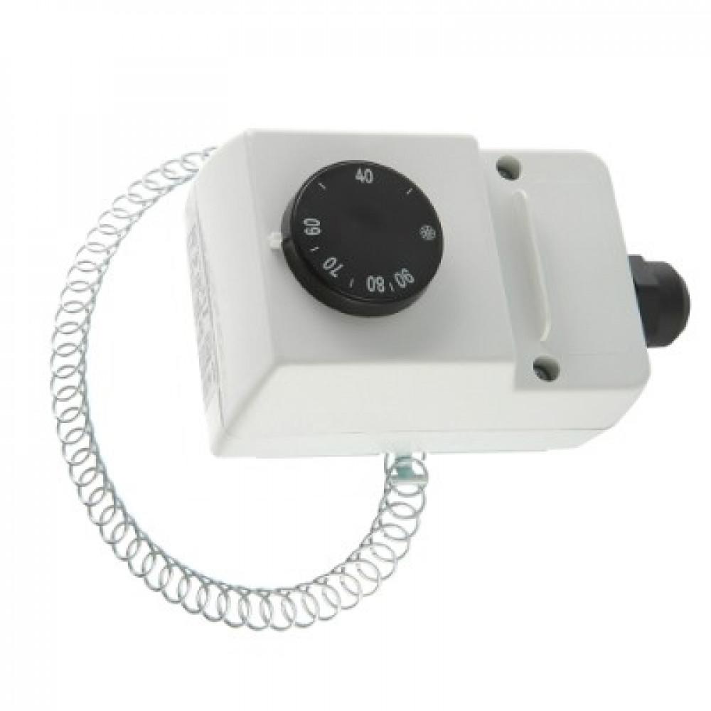 Термостат регулируемый с накладным датчиком