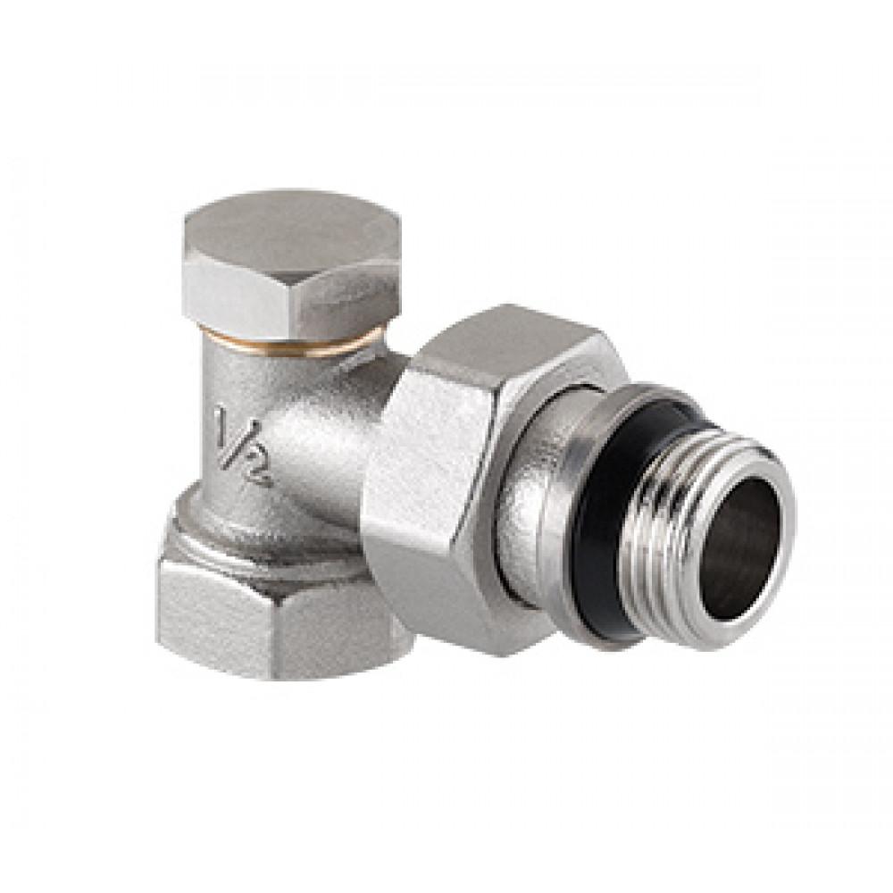Клапан настроечный угловой с дополнительным уплотнением